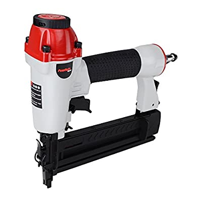 PowRyte Basic 100192 18 Gauge 2-in-1 Air Brad Nailer/Narrow Crown Stapler