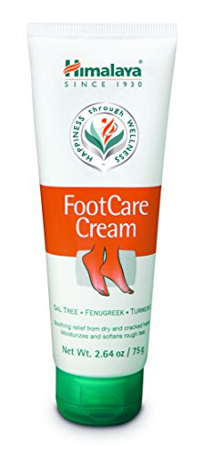 Himalaya Foot Care Cream for Dry and Cracked Heels, 2.64 Oz. / 75 g Care Foot Cream