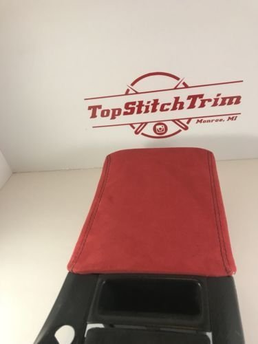 f87f0f17edb33 Amazon.com: For 99-03 Honda S2000 S2k Shift and Arm Pad Red Suede ...