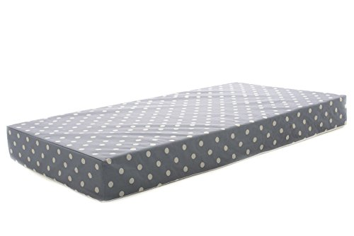 Milliard Crib Mattress and Toddler Bed Mattress | Hypoallergenic + Waterproof Encasement | 27.5