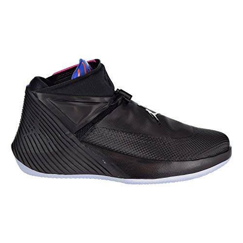 NIKE Jordan Men's Why Not Zer0.1 Basketball Shoes (10, Black/Pink)