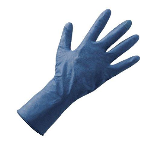 50 gants bleu double Latex ré sistant aux solvants haut é paisseur TG.9/XL BERICA HYGIENE SRL