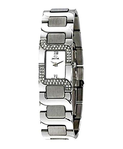 Jaguar J449/1 -Reloj de Acero con Diamantes para Mujer: Amazon.es: Relojes