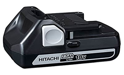 Hitachi 336290 BSL1825 18V 2.5 Ah Li-Ion Battery, Slide Type