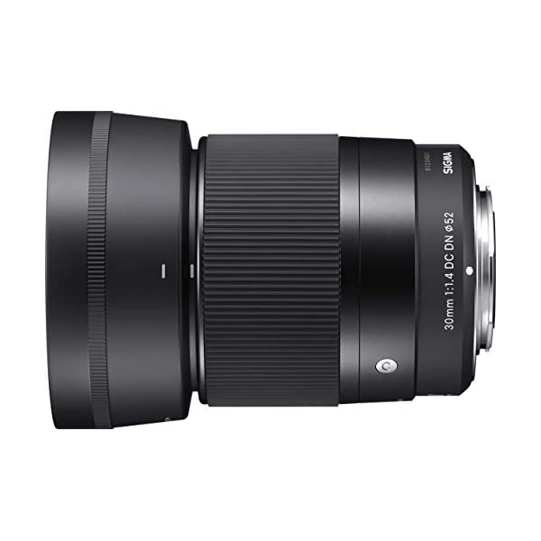 RetinaPix Sigma 30mm f/1.4 DC DN Contemporary Lens for Canon EF-M Mount