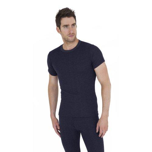 Mens Thermal Underwear Short Sleeve T Shirt (British Made)