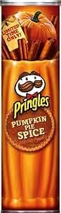 Pringles Potato Crisps Pumpkin Pie Spice Flavor, 6.38 Ounce (1 Tube)
