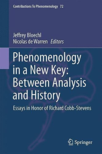 Phenomenology in a New Key: Between Analysis and History: Essays in Honor of Richard Cobb-Stevens (Contributions To Phenomenology) (2015-01-20)