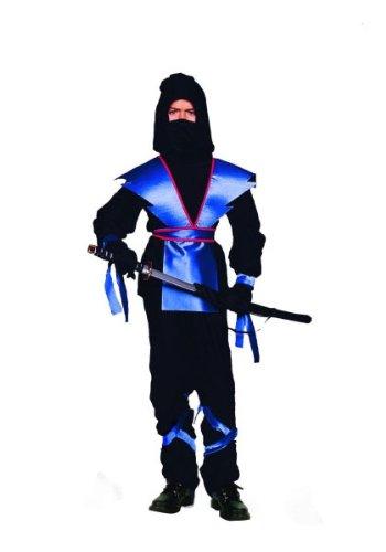 Blue Ninja Girl Costume (RG Costumes Ninja Master, Child Large/Size 12-14)