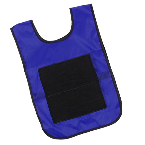 Homyl Sticky Ball Catch Vest, Team Practice Pinnies, Kids Babies Outdoor Game Cloth - Blue