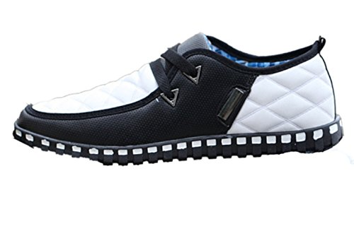 New Style Mens Casual Shoes Black-white fD8YyP8Bf