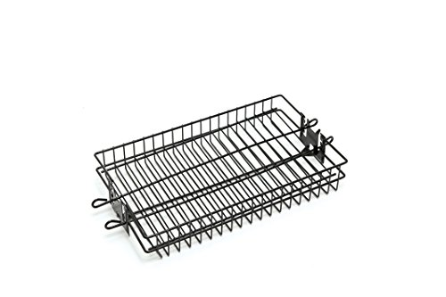 GrillPro 24785-1 Non-Stick Flat Spit Rotisserie Grill Basket by GrillPro