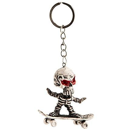 Carnival Toys S.R.L. - Esqueleto Llavero DE Skate: Amazon.es ...