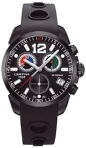 Certina  DS Rookie - Reloj de cuarzo para hombre, con correa de goma, color negro