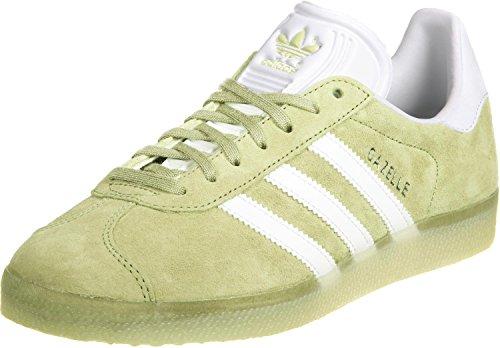 white 0 Chaussures Iceyellow Gazelle Adidas 10 THSBXPxq