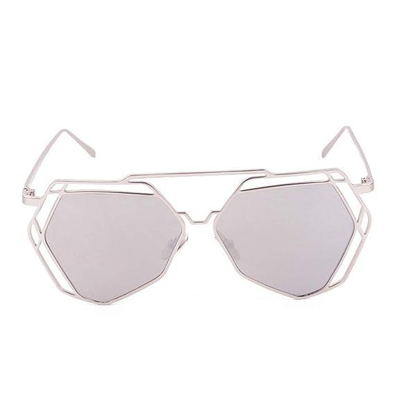Big Hexagon Frame Sunglasses
