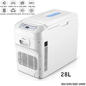 Mini Nevera Refrigerador del coche 28L Compresor Congelador ...