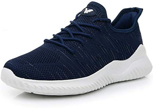 Impdoo Men s Memory Foam Slip On Walking Sneakers Comfortable Sports Athletic Tennis Running Shoes US7-12 B M