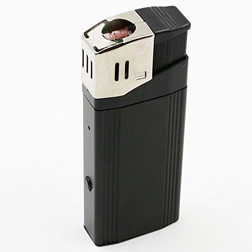 YYCAM Hd 1080P Mini Lighter Hidden Camera with Highlighted Flashlight Support Tf Card Lighter DVR Camcorder (Dvr Spy Lighter)