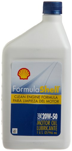 Formula Shell Conventional 20W-50 Motor Oil (1 Quart, Case of 12)