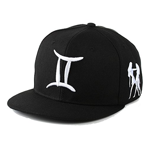 bibitme-hip-hop-12-constellation-embroidered-zodiac-hats-baseball-cap-snapback-adjustable-circumfere
