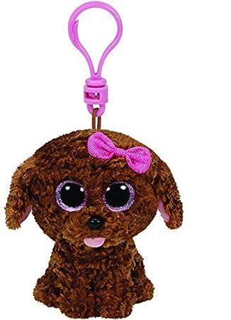 61886d9686b Amazon.com  Ty Plush – Beanie Boo  S Clip – Maddie The Dog  Toys   Games