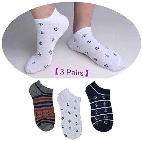 [3 Pair Halloween Lounge Socks for Men's #IR8375 HQ323K14] (Cute Halloween Decorated Cupcakes)