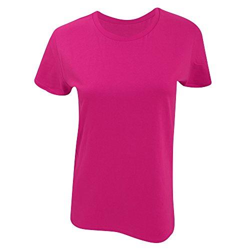 Gildan- Camiseta Premium de algodón para mujer Heliconia