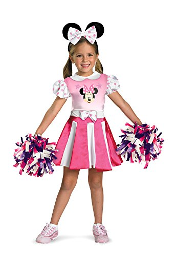Baby-Toddler-Costume Minnie Mouse Cheerleader Toddler Costume 2T