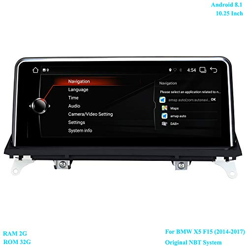 XISEDO 10.25 Inch Head Unit Android 8.1 Car Stereo Car: Amazon.co.uk: Electronics