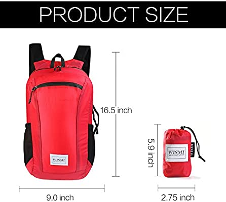 95bd5c46284d SUNNY SHOP Lightweight Hiking Backpack Waterproof Foldable Travel ...