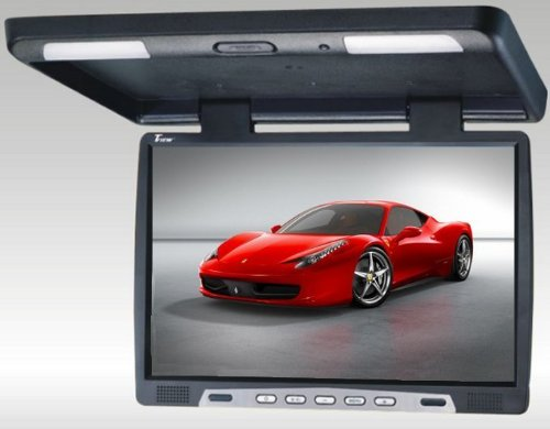 Tview T2207ir 22 Inch Thin Tft Flip Down Ceiling-mount Car/truck Monitor