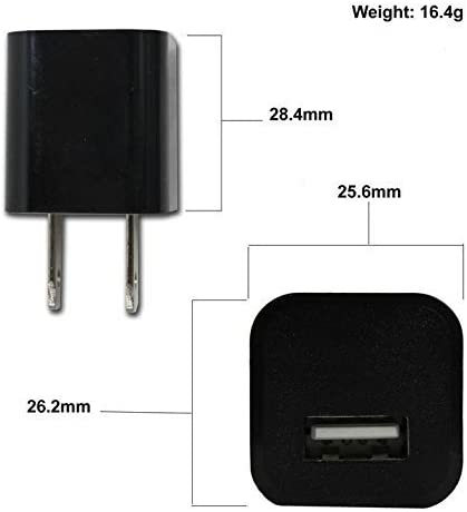 USB Blade Wall Charger. 1 USB Car Charger Adapter, Basic MicroUSB Adapter Power Kit Works with Samsung SM-T2105 1 1.2A Charging USB 2.0 Data Cable, 1 Includes :