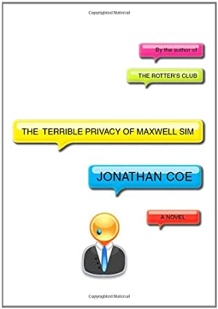 book cover of The Terrible Privacy of Maxwell Sim