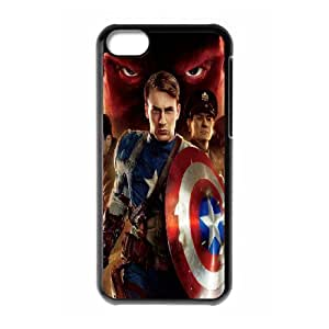 DIY Stylish Printing Captain America Cover Custom Case For iPhone 5C MK1Q703244