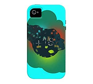+18 iPhone 4/4s Aqua Tough Phone Case - Design By Humans