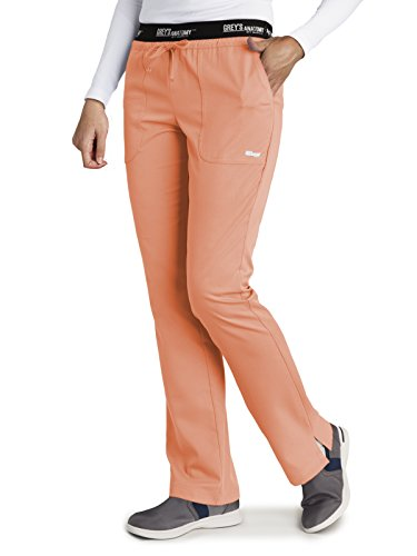 Grey's Anatomy Active 4275 Drawstring Scrub Pant Citrus L Tall by Grey's Anatomy Active