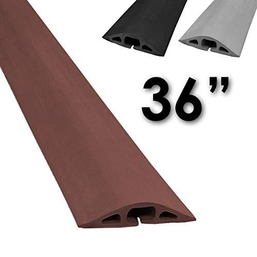 Black Electriduct - 100 Feet 23mm ID 1 Flame Retardant Polypropylene Split Wire Loom Tubing