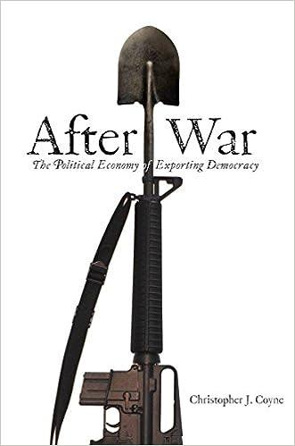 Gratis digitale lydbøger download After War: The Political Economy of Exporting Democracy 0804754403 in Danish PDF FB2 by Christopher J. Coyne