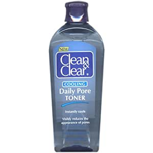 Clean & Clear Cooling Daily Pore Toner~8 Oz (Scrape on bottom side)