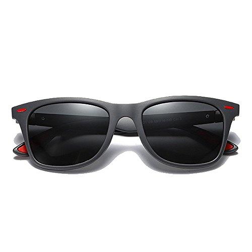 Negra Hombres Estilo Sol de Señoras C4 UV400 la Clásicas SunglassesMAN los C1 Color de Yxsd del de Gafas Unisex Protectoras Sombras Lente wC7q78UBn