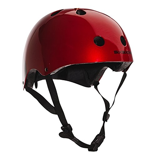 - Six Six One 661 Dirt Lid Helmet One Size (Red)