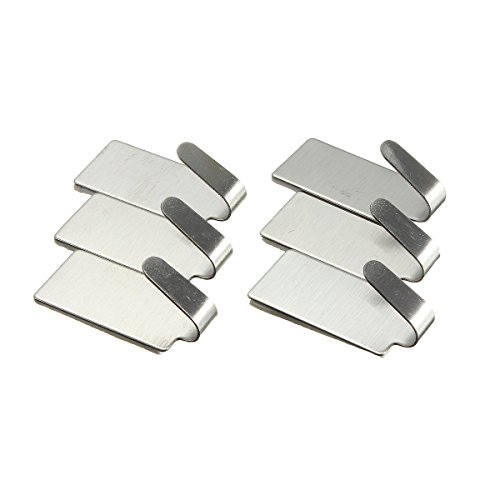 KINGSO Stainless Adhesive Hanger Holder
