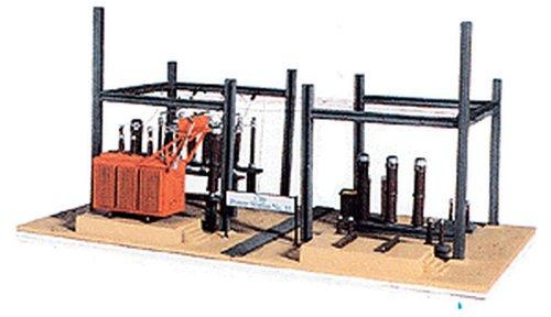 Model Power HO Scale Building Kit - City Power Station #15 - Bridge Street Toys