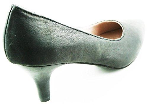 Andrea Conti Schuhe Pumps Sommer High Heels Gr.40 Echtleder Schwarz 2001