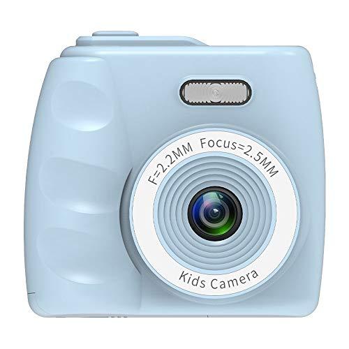(LARDOO Cute Mini Digital Camera Dreamer Child Fotografica 1080P Toys Video Recorder Camcorder Kamera Kids Camera,Blue)