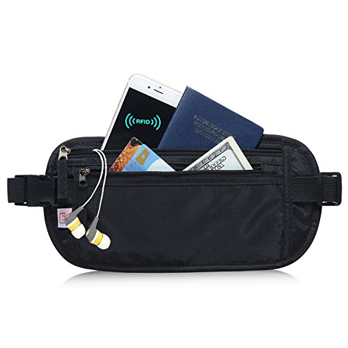 AIKELIDA RFID Blocking Travel Wallet product image