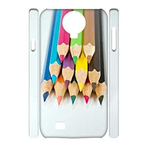 LZHCASE Diy Case Colored Pencil Cover For Samsung Galaxy S4 i9500 [Pattern-1]