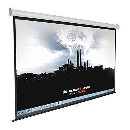 """Projector Projection Screen 84"""" 16:9 Display Hd"""