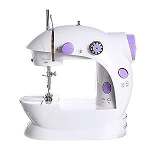 GSKTY Máquina de coser eléctrica Inicio multifunción Mini 21 * 9 * 19. 5 CM